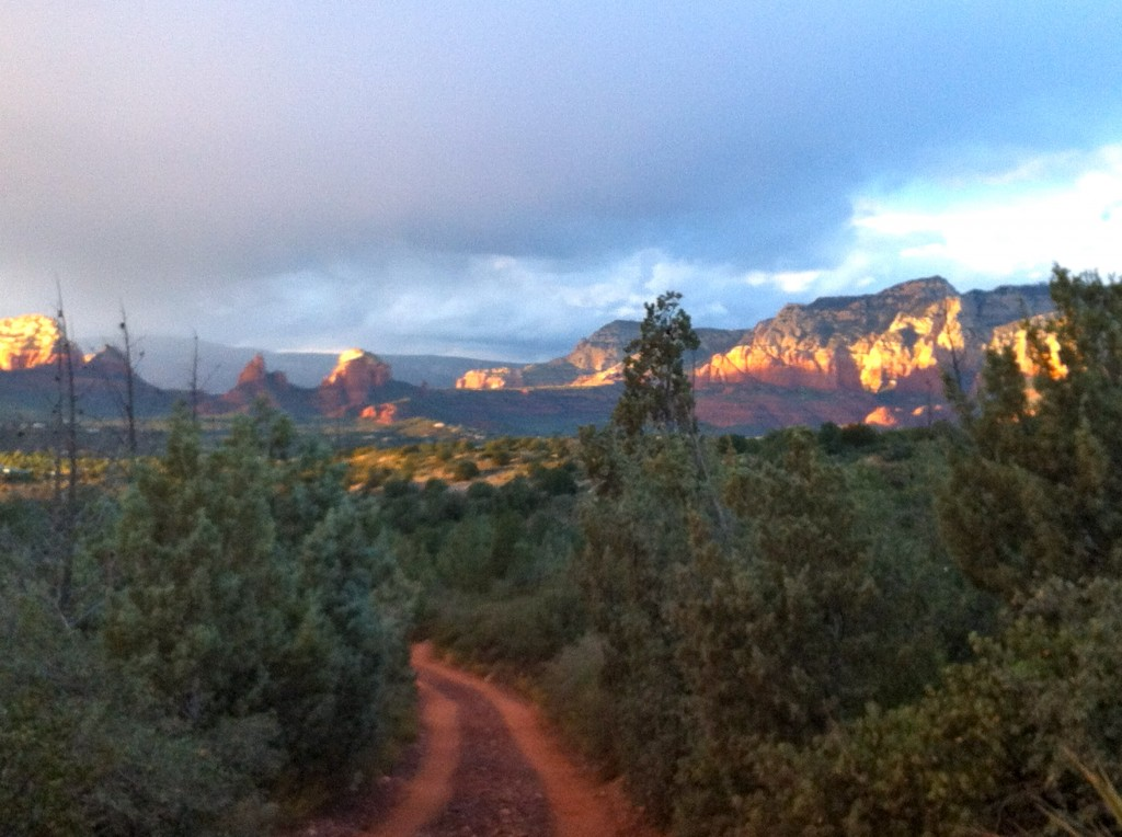 View from the Broken Arrow Jeep Trail