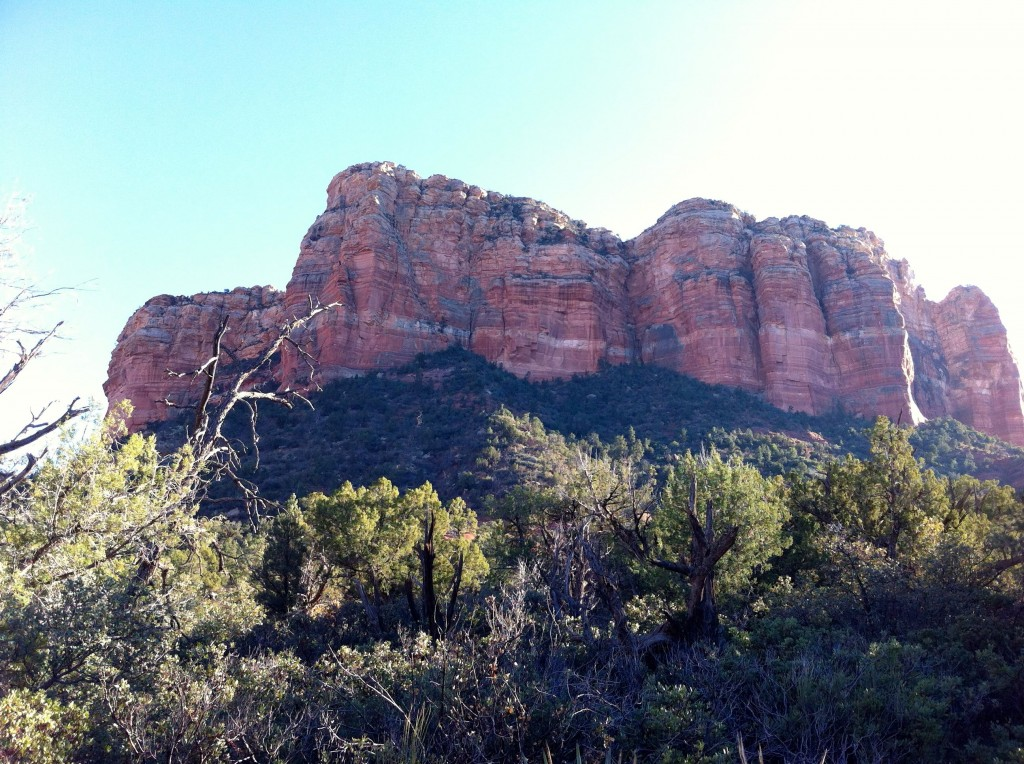 Courthouse Butte, from the Loop Trail