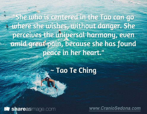 Centered n the Tao